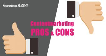 コンテンツマーケティング、メリット・デメリット