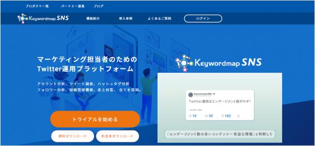 Keywordmap for SNS_画像